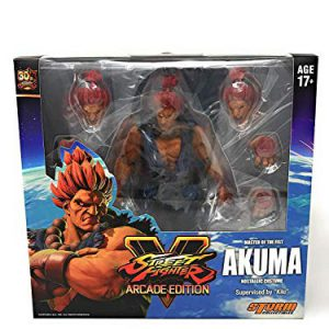 Akuma (Nostalgia Costume) Street Fighter V, Storm Collectibles 1/12 Action Figure