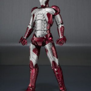 Iron Man: Iron Man Mark V & Hall of Armor Set S.H.Figuarts Action Figures