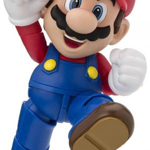 Nintendo: Mario (New Package Ver.) S.H.Figuarts Action Figure (Super Mario Brothers)