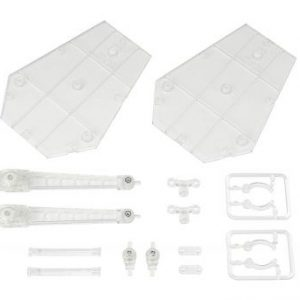 Tamashii Stage: Act. 5 for Mechanics Stand Support (Clear) For Action Figures