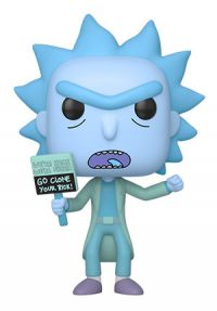 Rick and Morty: Hologram Rick Clone Pop Figure