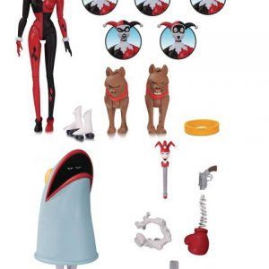 Batman: Animated Series - Harley Quinn Expressions Action Figure