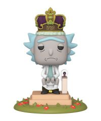 Rick and Morty: King of $#!+ w/ Sound Pop Figure