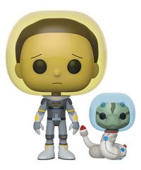 Rick and Morty: Morty (Space Suit) w/ Snake Pop Figure