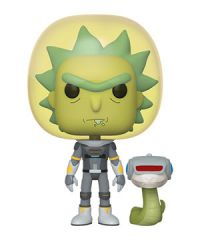 Rick and Morty: Rick (Space Suit) w/ Snake Pop Figure