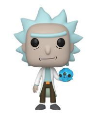 Rick and Morty: Rick w/ Crystal Skull Pop Figure