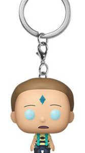 Key Chain: Rick and Morty - Floating Death Crystal Morty