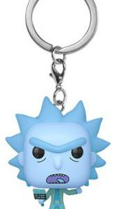 Key Chain: Rick and Morty - Hologram Rick Clone