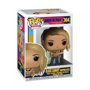 Birds of Prey: Black Canary (Boobytrap Battle) Pop Figure