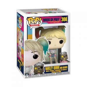 Birds of Prey: Harley Quinn w/ Beaver Pop Buddy Figure