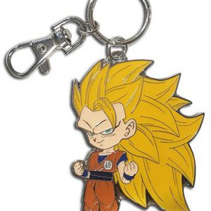 Key Chain: Dragon Ball Super - Metal SD SS3 Goku