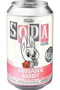Crusader Rabbit: Crusader Rabbit Vinyl Soda Figure (Limited Edition: 5000 PCS)