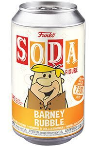 Hanna Barbera: Flintstones - Barney Rubble Vinyl Soda Figure (Limited Edition: 7500 PCS)