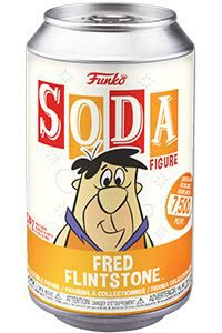 Hanna Barbera: Flintstones - Fred Flintstone Vinyl Soda Figure (Limited Edition: 7500 PCS)