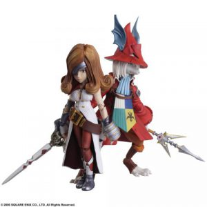 Final Fantasy IX: Freya Crescent & Beatrix Bring Arts Action Figure (Set of 2)