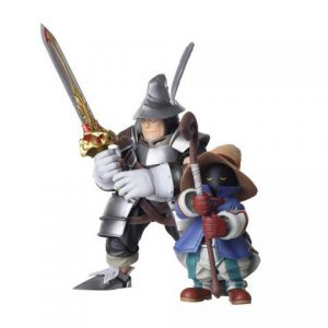 Final Fantasy IX: Vivi & Steiner Bring Arts Action Figures (Set of 2)