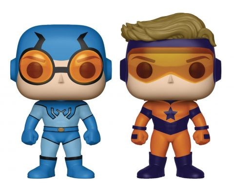 DC Comics: Blue Beetle (Ted Kord) & Booster Gold PX Exclusive Pop Vinyl Figures (2-Pack)