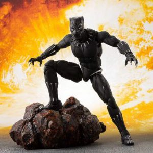 Avengers Infinity War: Black Panther & Tamashii Effect Rock S.H.Figuarts Action Figure