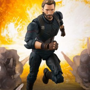 Avengers Infinity War: Captain America & Tamashii Effect Explosion S.H.Figuarts Action Figure