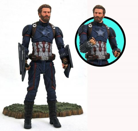 Avengers Infinity War: Captain America Marvel Selects Action Figure