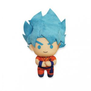 Dragon Ball Super: Super Saiyan Blue Goku 6.5'' Plush (Battle of the Gods)