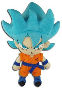 Dragon Ball Super: Super Saiyan Blue Goku 8'' Plush (Ressurection of F)