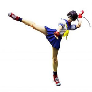 Street Fighter: Sakura Kasugano S.H.Figuarts Action Figure