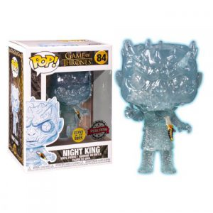 Game of Thrones: Crystal Night King (GITD) w/ Dagger in Chest Pop Vinyl Figure (Special Edition)