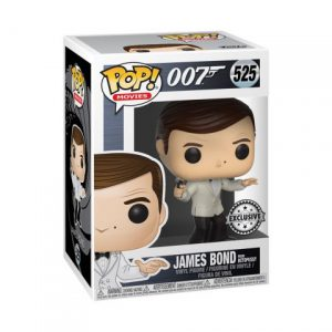 James Bond: James Bond (Roger Moore) (White Tux) Pop Vinyl Figure (Special Edition)