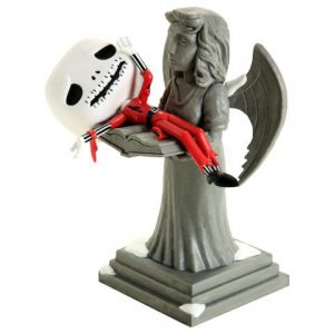 Nightmare Before Christmas: Jack on Angel Statue Movie Moment Figure (Special Edition)