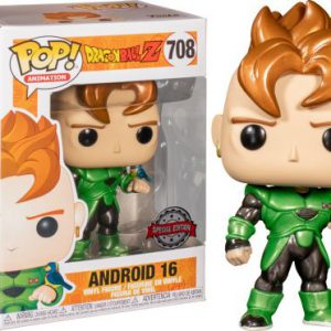 Dragon Ball Z: Android 16 (Metallic) Pop Figure (Special Edition)