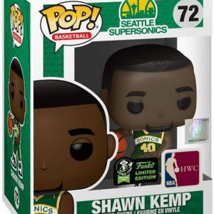 NBA Stars: SuperSonics - Shawn Kemp Pop Figure (2020 Spring Convention Exclusive)