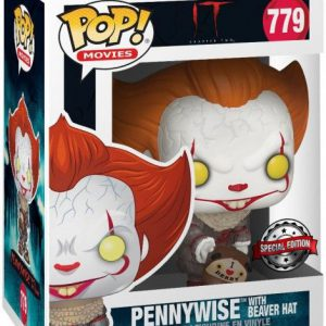 Stephen King's It Chapter 2: Pennywise w/ Beaver Hat Pop Figure (Special Edition)