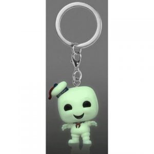 Key Chain: Ghostbusters - Stay Puft Pocket Pop (GITD) (Special Edition)