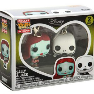 Key Chain: Nightmare Before Christmas - Ghost (Flocked) Pocket Pop (Special Edition)
