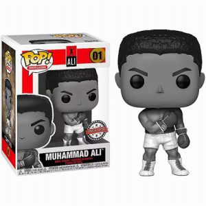 Boxing Stars: Muhammad Ali (Black & White) Pop Figure (Special Edition)