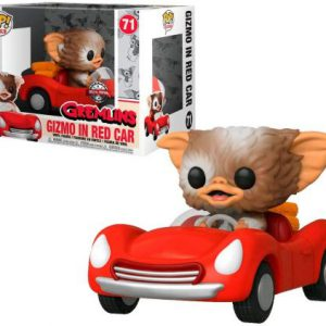 Gremlins: Gizmo w/ Red Car Pop Rides Figure (Special Edition)