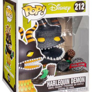 Nightmare Before Christmas: Harlequin Demon (Diamond) Pop Figure (Special Edition)