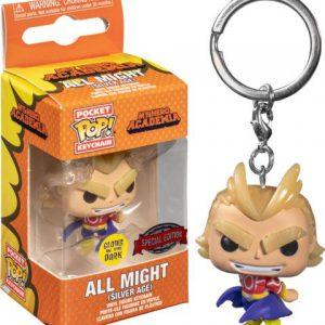 Key Chain: My Hero Academia - All Might (Silver Age) (GITD) (Special Edition)