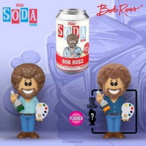 Bob Ross: Bob Ross Vinyl Soda Figure (Limited Edition: 12,000 PCS)