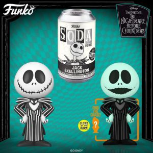 Nightmare Before Christmas: Jack Skellington Vinyl Soda Figure (Limited Edition: 20,500 PCS)