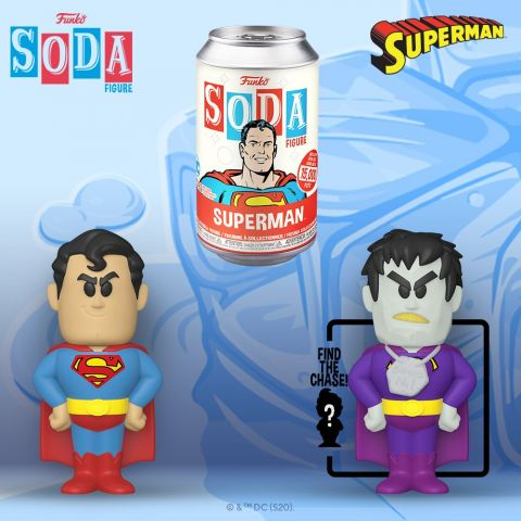 Superman: Superman Vinyl Soda Figure (Limited Edition: 15,000 PCS)