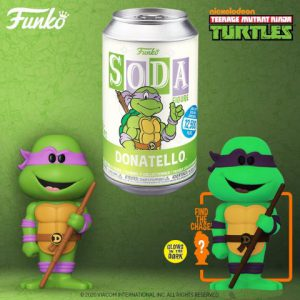 Teenage Mutant Ninja Turtles: Donatello Vinyl Soda Figure (Limited Edition: 12,500 PCS)