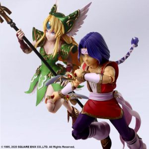 Trials of Mana: Hawkeye and Riesz Bring Arts Action Figures (Set of 2)