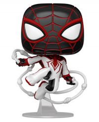 Spiderman PS: Miles Morales - Spiderman (T.R.A.C.K Suit) Pop Figure