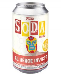 Marvel Luchadores: El Heroe Invicto (Iron Man) Vinyl Soda Figure (Limited Edition: 15,000 PCS)