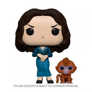 His Dark Materials: Mrs. Coulter w/ Daem Pop & Buddy Figure