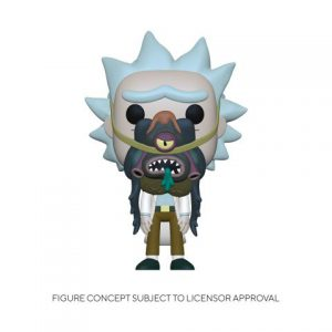 Rick & Morty: Rick w/ Glorzo Pop Figure