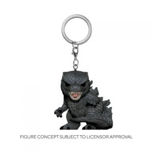 Key Chain: Godzilla Vs Kong - Godzilla Pocket Pop