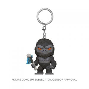 Key Chain: Godzilla Vs Kong - Kong w/ Axe Pocket Pop